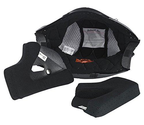 Biltwell - Gringo  Gringo S Helmet Liner - Black  Silver - S Small