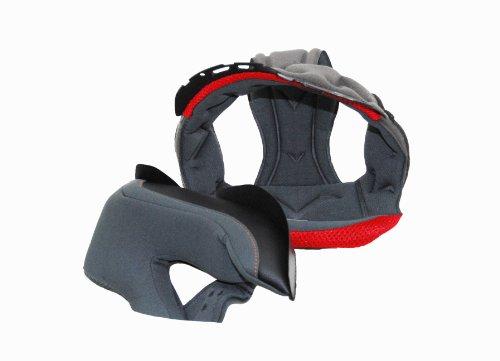 Vega Insight Full Face Helmet Replacement Liner Grey Medium