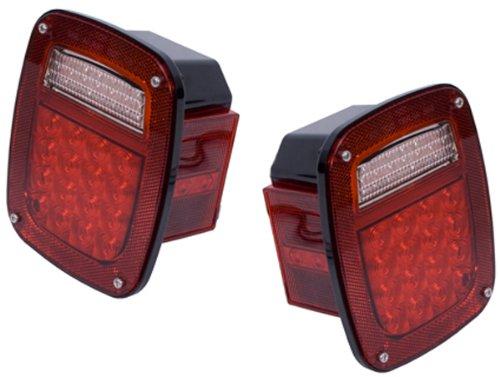 Jeep Wrangler CJ LED Tail Light Assembly Set 1976-2006