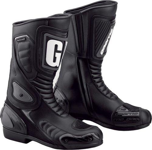 Gaerne G-RT Touring Concept Boots  Size 10 Gender MensUnisex Primary Color Black 2369-001-10