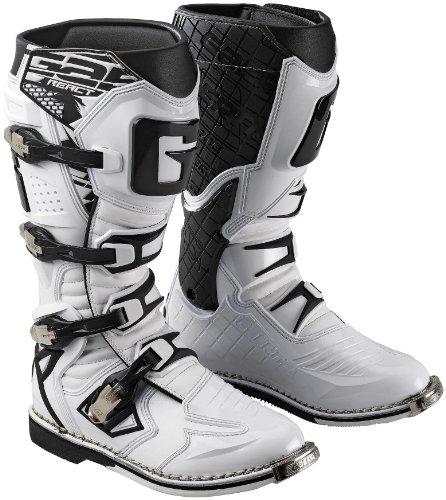 Gaerne G React Boots  Size 8 Distinct Name White Primary Color White Gender MensUnisex XF45-5379