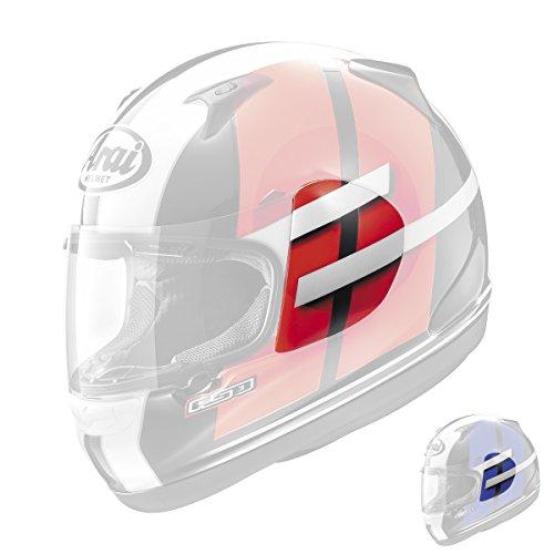 Arai RX-Q Conflict Helmet Shield Cover Blue