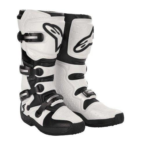 Alpinestars Stella Tech 3 Womens MotoX Motorcycle Boots - WhiteBlack  Size 10