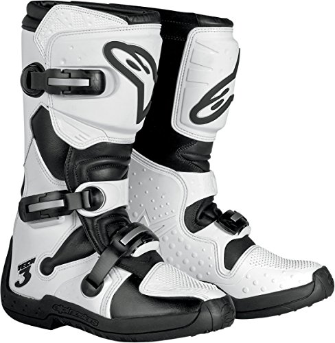 Alpinestars Stella Tech 3 Womens MX Boots WhiteBlack 6 USA