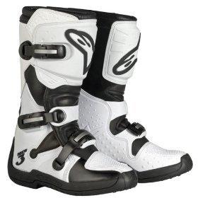Alpinestars Womens Stella Tech 3 Boots - White - Free Shipping - Size 6