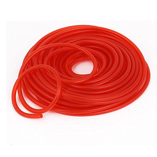 """1/4"""" Inner Dia Red Fuel Line Tube Pipe 30 Meters"""