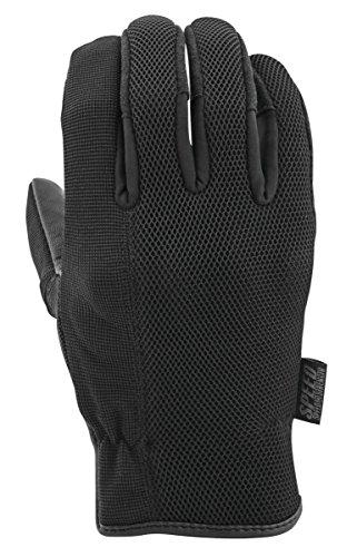 Speed Strength 872295 Last Man Standing Leather-Mesh Gloves Black Large