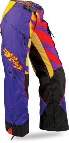 Fly Racing Kinetic Inversion Over Boot Womens MotocrossOff-RoadDirt Bike Motorcycle Pants - PurpleYellow  Size 78
