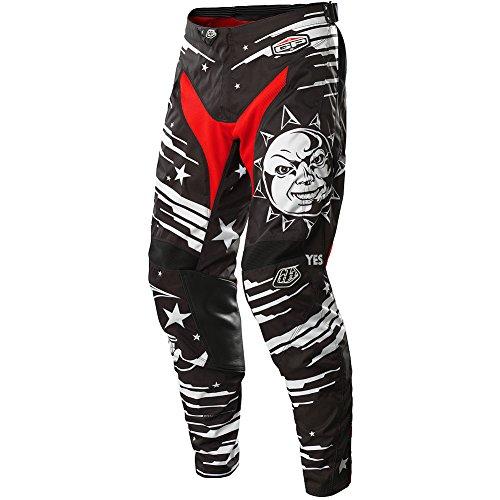 Troy Lee Designs GP Ouija Mens MotocrossOff-RoadDirt Bike Motorcycle Pants - Black  Size 38