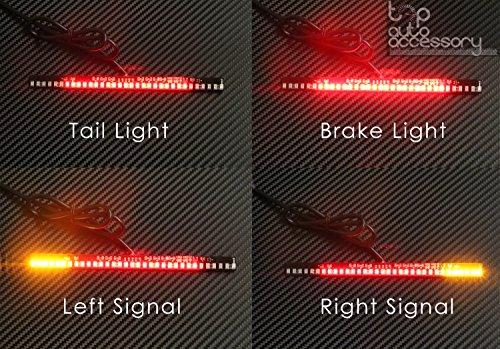 33-SMD LED Bar Brake Tail Light LeftRight Turn Signal Lamp for KTM Motorcycle