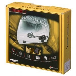 Nolan N-com Basic Kit 2 Communication System For N42/e Helmet - Stereo Ancom000c4802