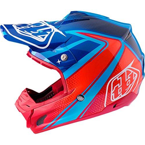 Troy Lee Designs Neptune Adult SE3 Motocross Motorcycle Helmet - Cyan  Small