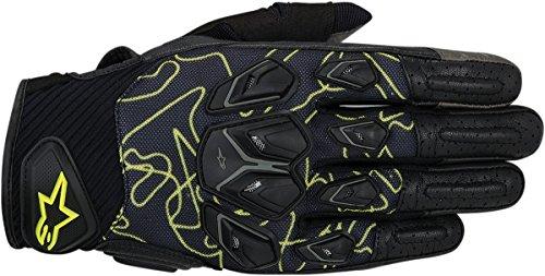 Alpinestars Masai Mens Street Motorcycle Gloves - BlackYellow  2X-Large