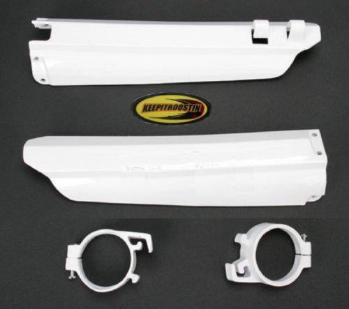 Fork Guards Plastic And Keepitroostin Sticker Fits Yamaha Wr250 Wr400 Wr426 Wr450 1996-2004