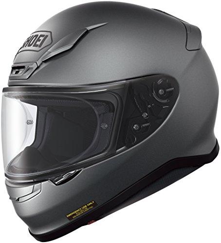 Shoei RF-1200 Matte Deep Street Bike Racing Motorcycle Helmet - Gray  Large