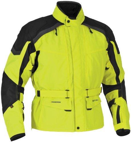 Firstgear Men's Kilimanjaro Motorcycle Jacket (dayglo, Tall X-large)