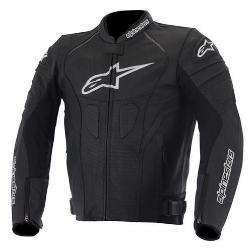 Alpinestars Gp Plus R Men's Leather Motorcycle Jackets - Black/white / Large