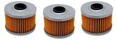 Factory Spec, Fs-705, Honda Trx350 Rancher, Atc 350 X, Trx 400 Ex Oil Filter Filters 3 Pack