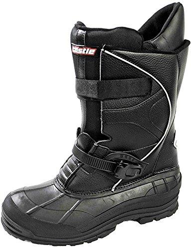 Castle X Platform Mens Snowmobile Boots - Black - 9