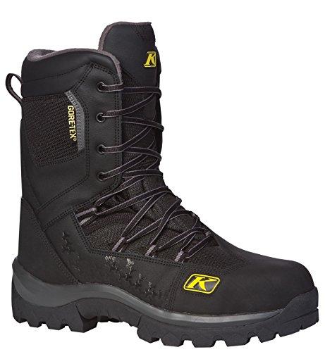 Klim Adrenaline GTX Mens Snocross Snowmobile Boots - Black  Size 7