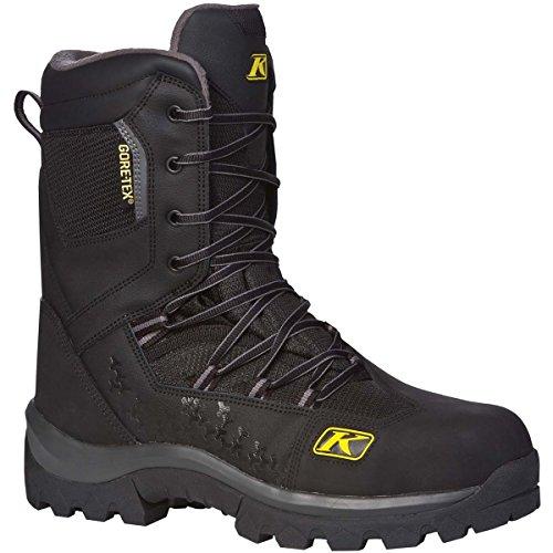 Klim Adrenaline GTX Mens Snocross Snowmobile Boots - Black  Size 9