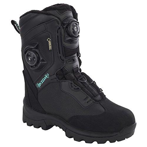 Klim Aurora GTX Boa Womens Snowmobile Boots - Size 8  Black