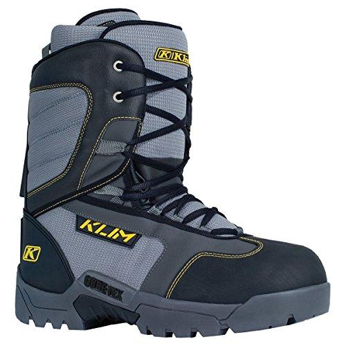 Klim Radium GTX Mens Snowmobile Boots - Size 12  Black