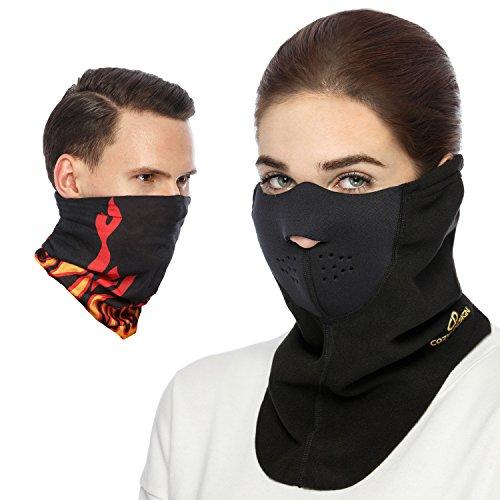 Cozia Design Premium Ski Mask + Magic Scarf/ Winter Face Mask - Best Winter Bundle !