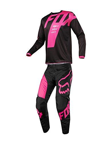 Fox Racing 2018 180 Mastar JerseyPants Adult Mens Combo Offroad MX Gear Motocross Riding Gear Black
