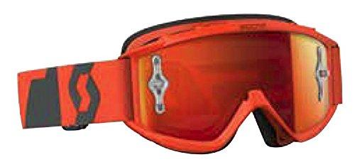 Scott 89Si Pro Youth Goggles - Oxide RedWhiteOrange Chrome Works  One Size
