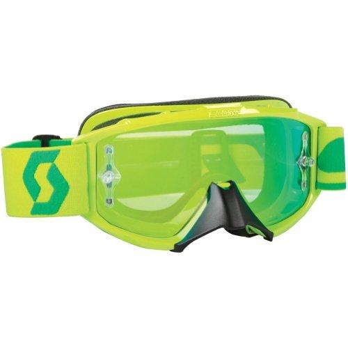 Scott Sports 89Si Pro Youth Goggles Oxide Lime Green FrameGreen Chrome Lens