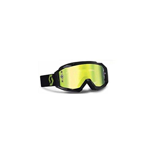 Scott USA 89Si Pro Youth Goggles BlackGreen  Yellow Chrome Lens