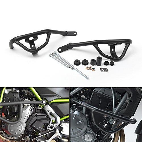 Areyourshop Black Crash Bars Engine Guard Frame Protector For Kawasaki Z650 2017