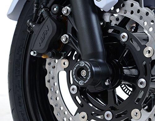 R&G Fork Axle Sliders for Kawasaki Z650 17
