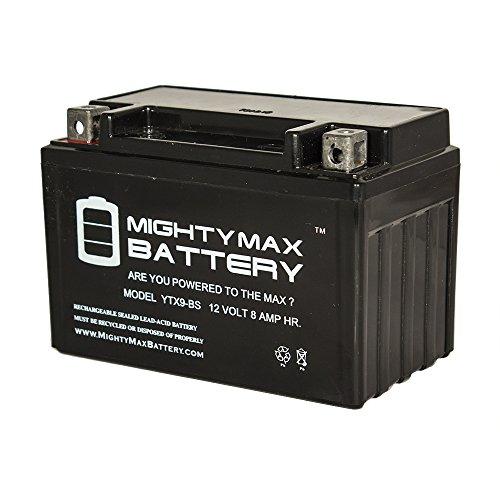 YTX9-BS SLA Battery for Kawasaki 600 ZX600-FA Ninja ZX-6R '2008-'2013 - Mighty Max Battery brand product
