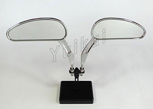 Rear View Mirrors mirror For Harley Davidson CVO Softail Deluxe FLSTNSE Deuce FXSTDSE2 Springer FXSTSSE23