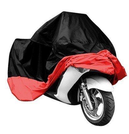 Lyfreen IndoorOutdoor Motorcycle Cover Lifetime Limited Warranty Reflective Waterproof UV Protection Heat - Moisture Guard Vent Sportbike XL