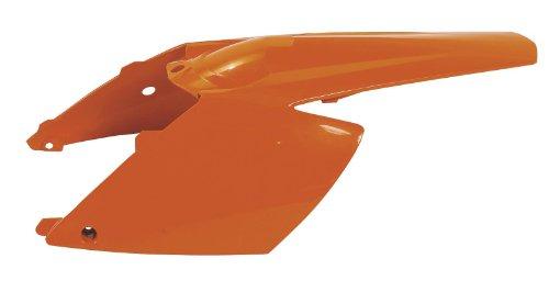 Acerbis Rear-side Cowling - Orange