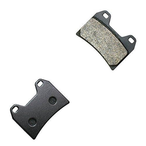 CNBK Front Disc Brake Pads Semi-Metallic for DUCATI Street Bike 400 Monster Japan 95 96 97 98 99 00 01 1995 1996 1997 1998 1999 2000 2001 1 Pair2 Pads