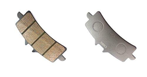 CNBK Front Right Disc Brake Pads Semi-Metallic for DUCATI Street Bike 1198 SP 11 12 13 14 15 2011 2012 2013 2014 2015 1 Pair2 Pads