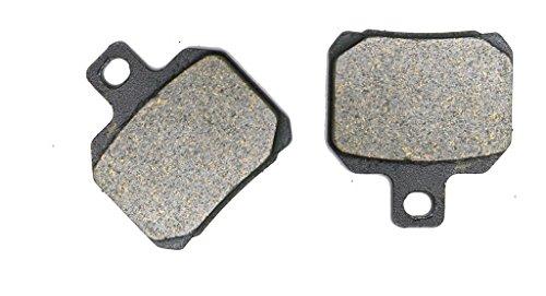 CNBK Rear Brake Pad Semi-Metallic fit for DUCATI Street Bike 1198 R Corse 10 11 12 13 14 15 2010 2011 2012 2013 2014 2015 1 Pair2 Pads