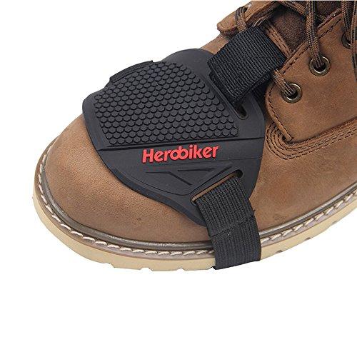 HEROBIKER Motorcycle Gear Shifter Shoe Boots Protector Shift Sock Motorcycle Boot Cover Protective Gear MXT1001 01