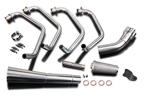 Kawasaki KZ1000 MKII A3 A4 4-1 Exhaust Stainless Steel Header Muffler 79 80