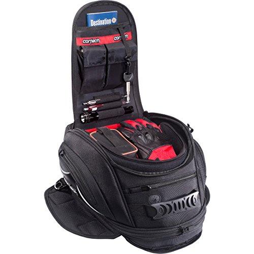 Cortech Super 20 10L Magnetic Mount Motorcycle Tank Bag - Black  One Size