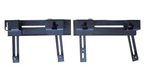 Universal Detachable Quick Release Saddlebag Brackets Small - 90-190mm M8
