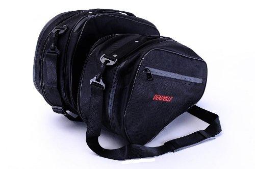 Bestem Lgho-nt700-sdl Black Saddlebag Sideliners For Honda Nt700 Nt700v Deauville, Pair