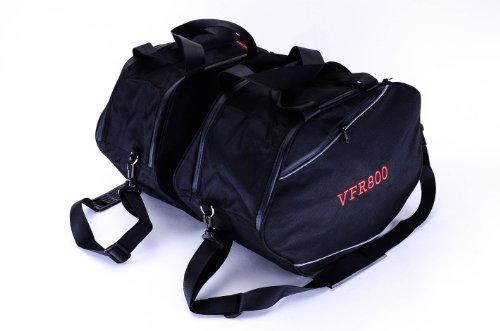 Bestem Lgho-vrf8h-sdl Black Saddlebag Sideliners For Honda Vfr800, Pair