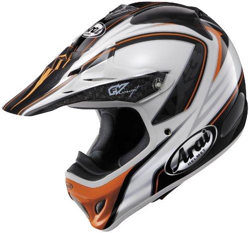 Arai Helmets Visor For Vx-pro 3 Helmet - Edge Orange 810466