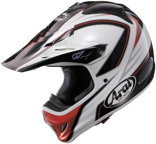 Arai Helmets Visor For Vx-pro 3 Helmet - Edge Red 810373