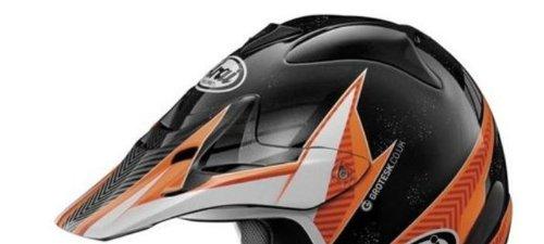 Arai Helmets Visor For Vx-pro3 Helmet - Motion Orange 810061